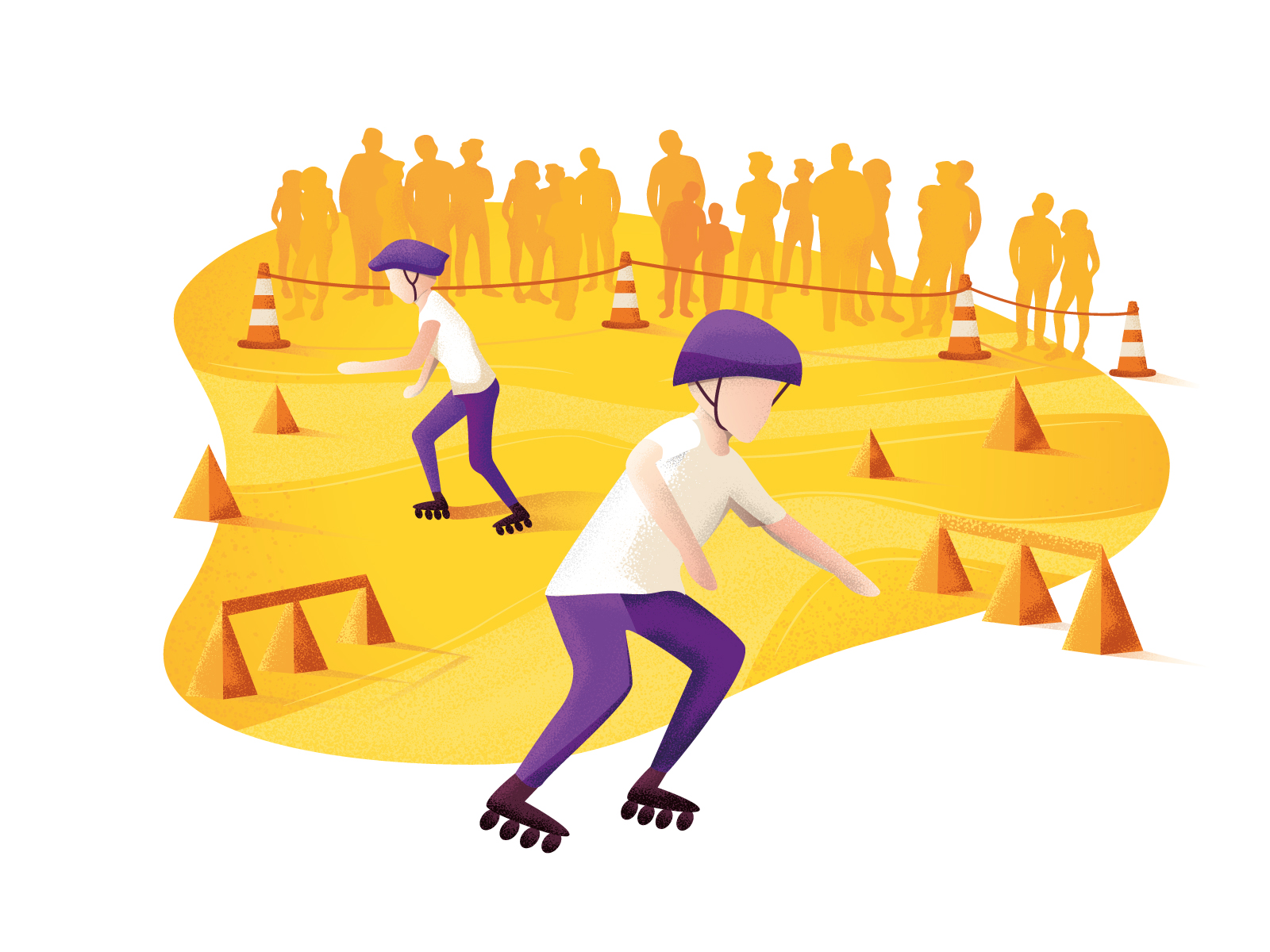 XIII Otwarte Mistrzostwa Podkarpacia w jeździe na rolkach ilustracja